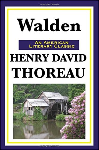 Walden. Author: Henry David Thoreau