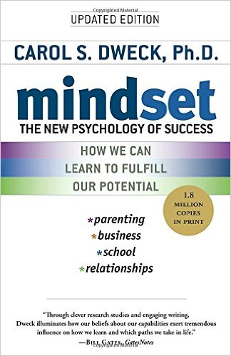 Mindset: The New Psychology of Success. Author: Carol Dweck