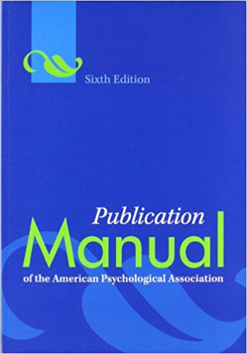 Manual de publicación del estadounidense Psychological Association