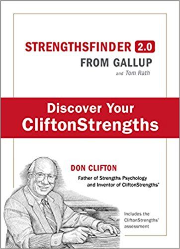 StrengthsFinder 2.0. Author:Tom Rath