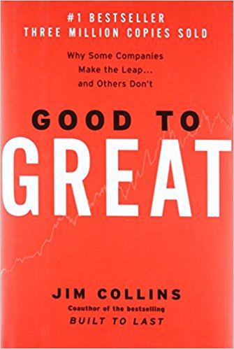 Good to Great. Author: Jim Collins