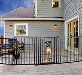 Carlson Pet Weatherproof Outdoor Super Pet Gate
