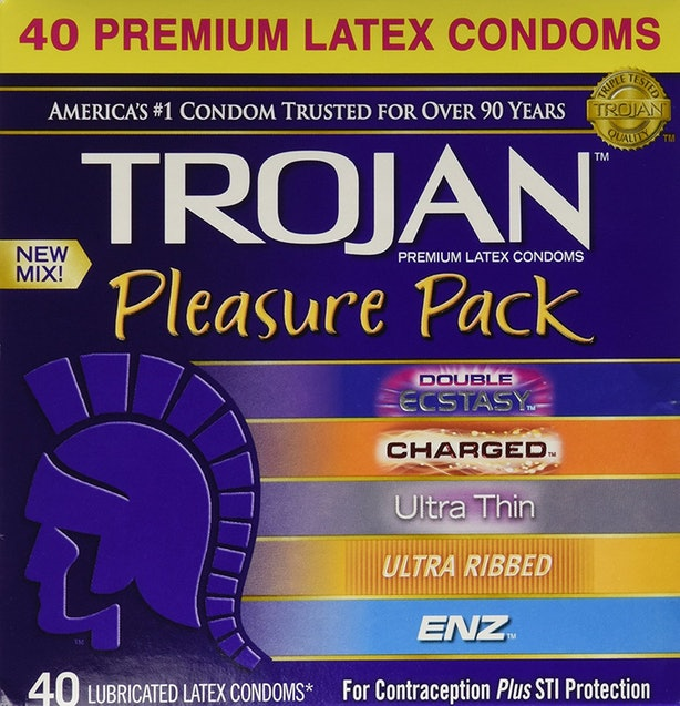 The Pack of different First-class Condoms for any Taste